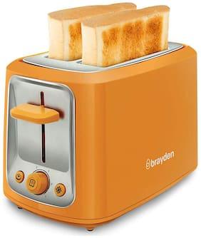 brayden FURO T20 2 Slices Pop-up Toaster ( Orange )