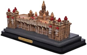 Brecken paul Wooden carving mysore palace Decorative Showpiece - 8 cm  wooden