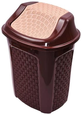 Brecken paul ABS Plastic dustbin Multicolour Capacity (6L)