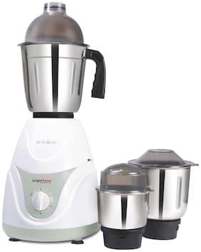 Bright Flame JURA-550 550 WATTS Mixer Grinder ( White , 3 Jars )