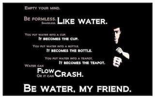 Bruce Lee Posters Poster Motivational Quotes
