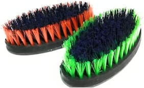 Brush for Cloth cleaning multi color set of 2