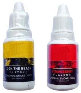 BTK Trade Plastic Assorted Hookah flavor Set of 2