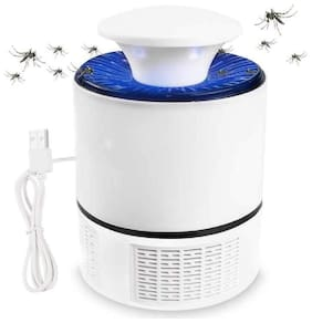 BTK Trade Eco Friendly USB Electronic LED Mosquito Killer Machine Trap Lamp (White)