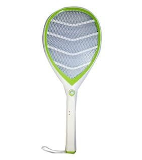 BTK Trade Premium Quality Rechargeable Insect/Mosquito Killer Bat with Attached Torch