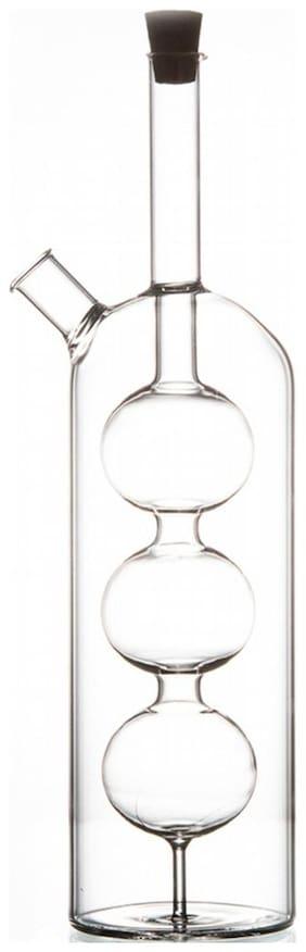 Godskitchen Bubble Bottle in Bottle Dispenser Large - Olive Oil and Vinegar Bottle
