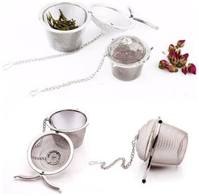 Bucket Shaped Stainless Steel Small Net Mesh Style Easy Loose Leaves Green Tea Filter - 1Pc Sold By Evershine Gifts And Household