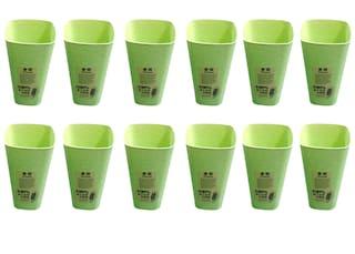 Buffy Green Glass Set;250 ml;12-Pieces