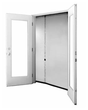 Bug Off 64R by 80 Instant Screen - Fits French Doors and Sliding Glass Doors