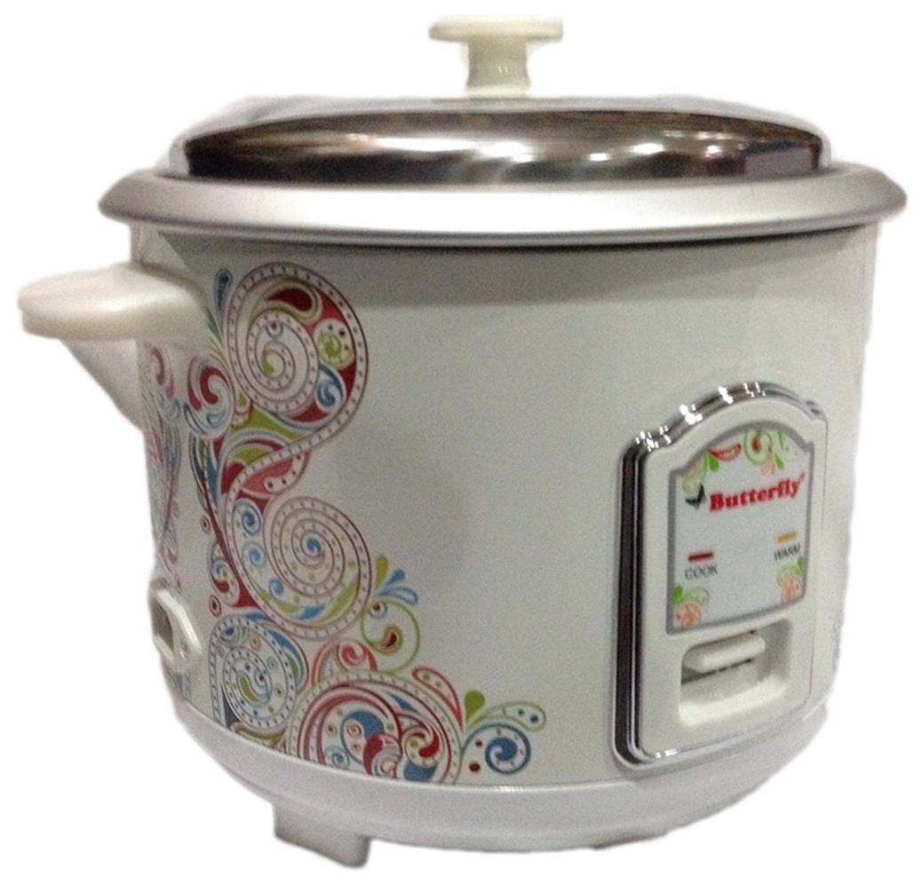 Butterfly Raga-r 1.8 L Rice Cooker (Cream)