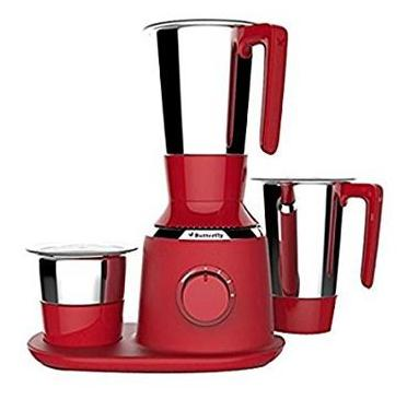 Butterfly Spectra 750 W Mixer Grinder (Red/4 Jars)