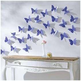 Butterfly Wall Sticker Jaamso Royals (1 Combo Pack of 12 Piece)