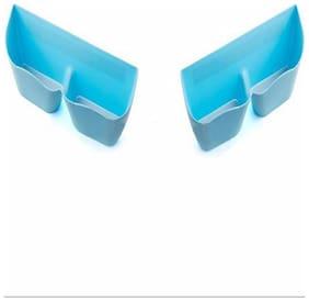 Buy 1 Get 1 Free! Blue Shoes Shelf Stick Organizer On The Wall - B1G1SHSTIKB