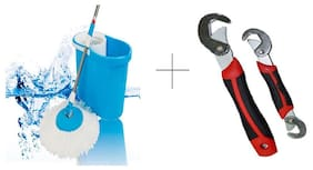 Buy Easy Magic Mop With Free Snap N Grip Wrench Set - MOPSNP