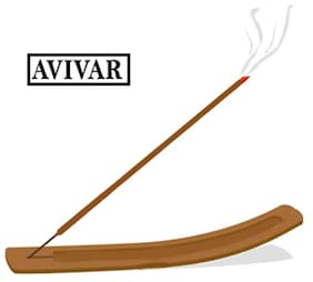 Avivar 15 Incense Sticks  with wooden stand
