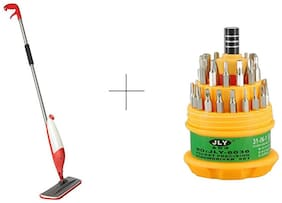 Buy Spray Mop With Free Jackly 31 In 1 Screwdriver Set Toolkit - SMOPTL