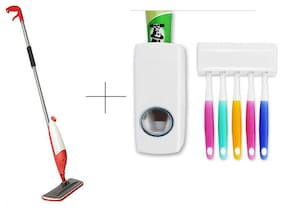 Buy Spray Mop With Free Toothpaste Dispenser - SPY1THSK1