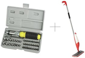Buy Spray Mop With Free 41 Pcs Toolkit Screwdriver Set - 41SYMOP