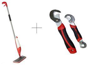 Buy Spray Mop With Free Snap N Grip Wrench Set - SMOPSN