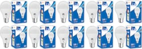 C&S LED  Bulb 18 W B22 Cool White With 2 Years Manufacturer Warranty - Pack Of  10