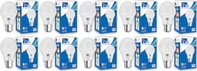 C&S LED  Bulb 9 W B22 Cool White With 2 Years Manufacturer Warranty - Pack Of  10