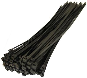 Cable Tie black set of 2 (100 piece)