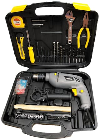 CAMEL BRAND 13 mm 850W Impact Drill Machine with Reversible Function 100 Accessories