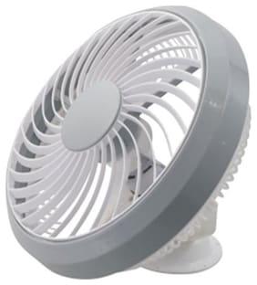 Candes 12PHANTOM 300mm Aluminum High-Speed Phantom Personal Fan Grey