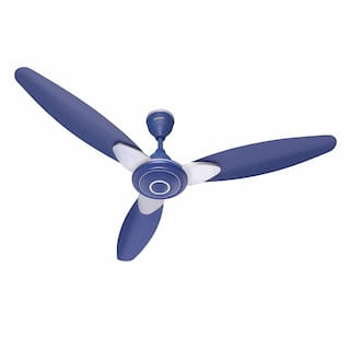 CandeS Florence 1200 mm Standard Ceiling Fan ( Silver blue )
