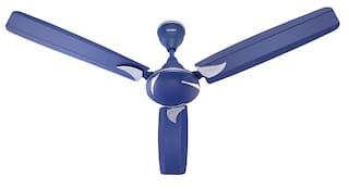 CandeS SwiftDSBL1CC 1200 mm Decorative Ceiling Fan ( Silver , Blue  )