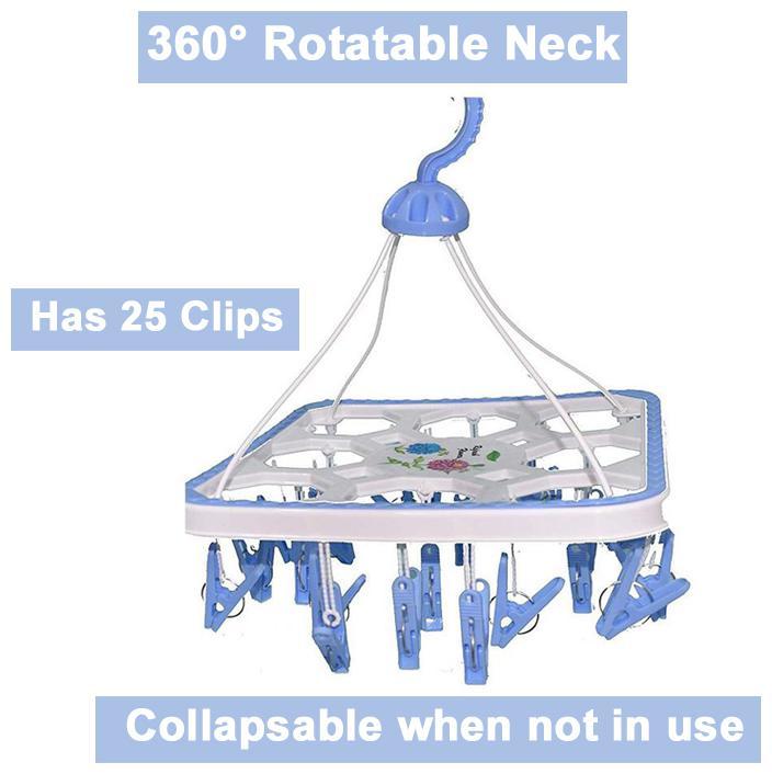 Bundle of 25 Only Hangers 12 Childrens Blue Plastic Top Hanger