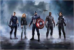 Rawpockets Wall Posters ' Captain America Civil War Wallpaper '