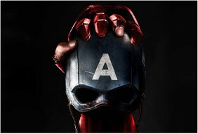 Rawpockets Wall Posters ' Captain America A '
