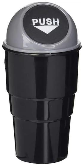 Car Trash Bin Can Garbage Mini Dust Bin Holder (Multi Color) Set of 1