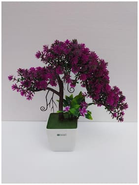 carmer artificial flower plant with pot