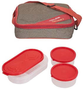 Carrolite Assorted Lunch box ( Set of 1 , 750 ml )