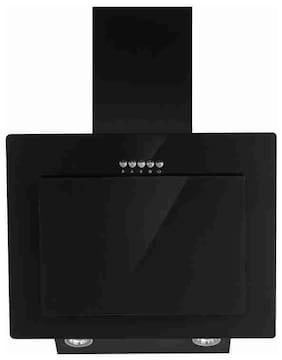 Carysil 60 cm 1000 m3/h Push button control Stainless steel Chimney - 240 w , Black , EGAP60
