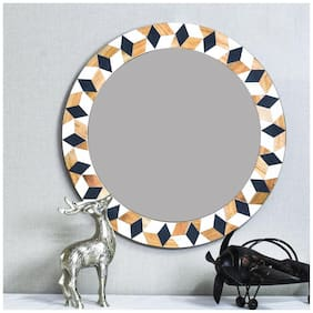 CASADECOR Wood & Resin Mirror - Set of 1