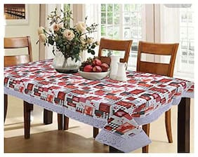 CASA-NEST Thick PVC 4 Seater,40X60 (Width x Length} INCH, Rectangular Waterproof Table Cover,Waterproof