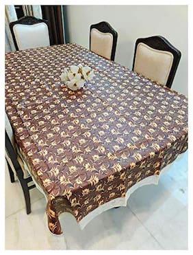 CASA-NEST Thick PVC Printed Dining Table cover, 4 Seater Size-40x60 (width x Length), inch, Waterproof Easy to Clean, Multi color101