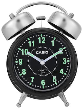 Casio Plastic Analog Table clock ( Set of 1 )