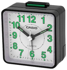 Casio Traveller's Beeper Sound Black Alarm Clock TQ140-1B
