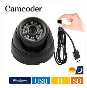 CCTV Security Camera Surveillance System for Home,Office,Shop (Dome CCTV Security Camera with Night Vision)
