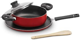 Cello Cookware Combos Induction Bottom ( PTFE , Set of 2 )