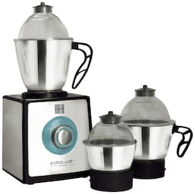 Cello GNM1200 850 W Mixer Grinder ( Silver , 3 Jars )