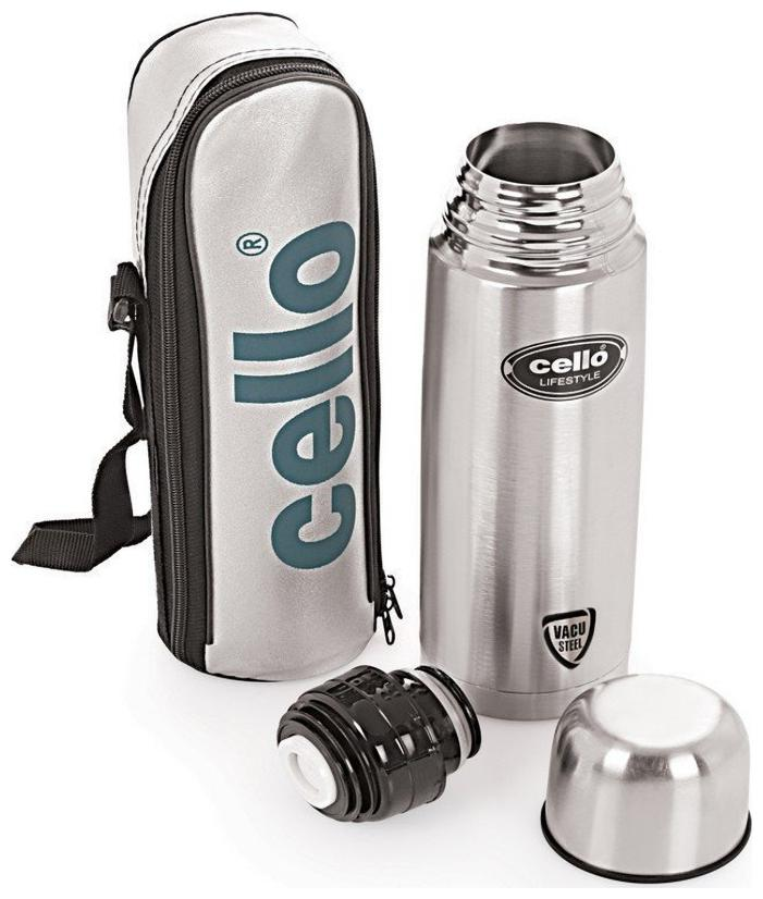 Cello Lifestyle Stainless Steel Flask;1000Ml