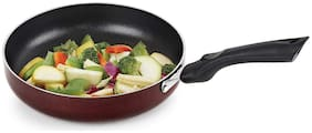 Cello Non Stick Induction Base Frying Pan/Tapper Pan;220 mm;Cherry