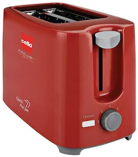 Cello POP UP 300 2 Slices 700 Pop-Up Toaster - Red