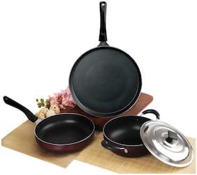 Cello Cookware Combos ( PTFE , Set of 4 )