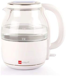 Cello GLASSY H2O 1.2 L White Electric Kettle ( 1200 W )